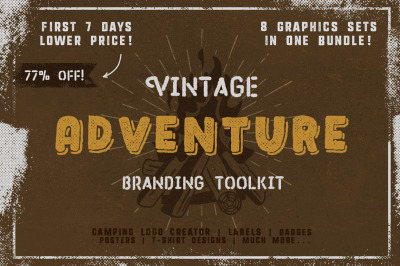 Vintage Adventure Branding Toolkit