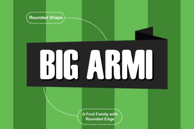 Big Armi Typeface