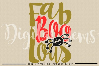 Fab Boo Lous SVG / DXF / EPS / PNG Files