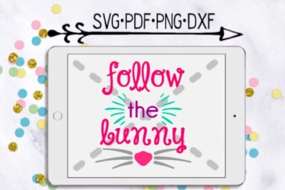 Follow The Bunny Cut Design