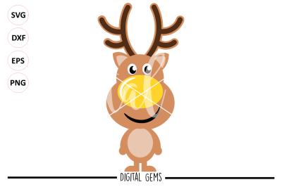 Reindeer SVG / DXF / EPS / PNG Files