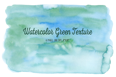 Watercolor Green Texture