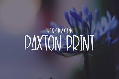 Paxton Print