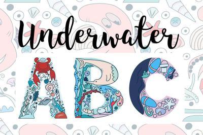 Underwater Alphabet