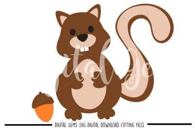 Squirrel SVG / DXF / EPS Files