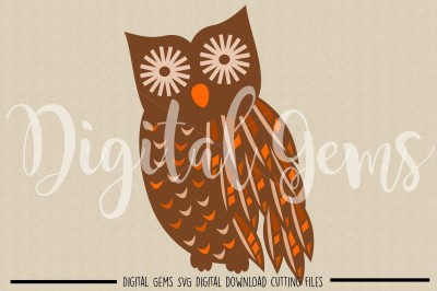 Owl SVG / DXF / EPS / PNG Files
