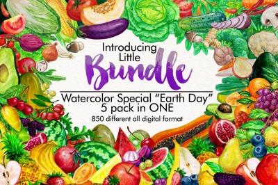 Little Bundle Fruits and Vegetables complete