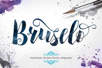 Bruselo Script (40% off) +Bonus