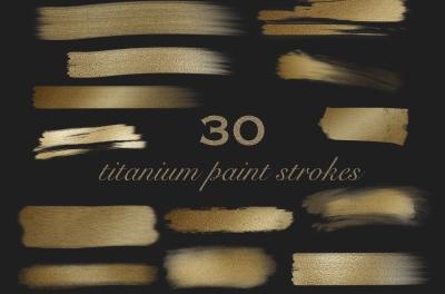 Titanium Paint Strokes