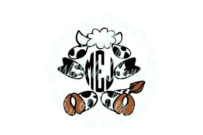 Easter SVG * Easter Monogram SVG * Easter Cow SVG * Cow Monogram SVG * Baby Cow SVG *