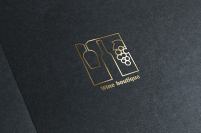 Wine boutique logo