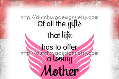 Text cutting file Mother, in Jpg Png SVG EPS DXF, for Cricut & Silhouette cameo curio portrait, mother mothersday mom mommy mum mummy