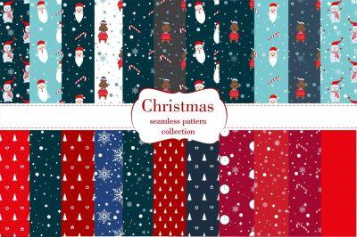 Christmas vector pattern