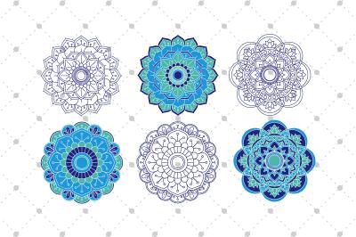 6 Vector Mandalas