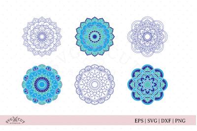 Mandala SVG Cut Files