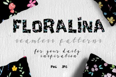Floralina-10 Floral Vintage Patterns