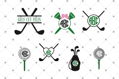 Golf SVG Files