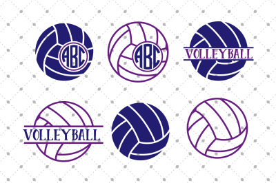 Volleyball SVG Files