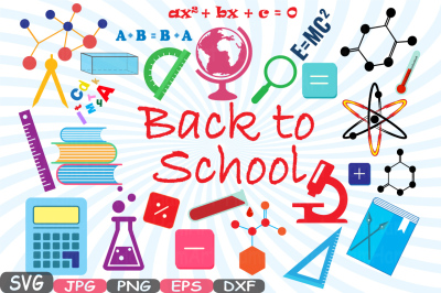Back to School Cutting Files SVG Cutting files
