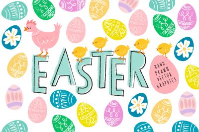 Happy Easter Vectors