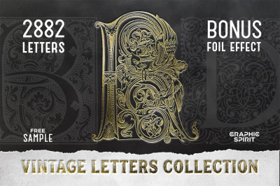 VINTAGE LETTERS COLLECTION