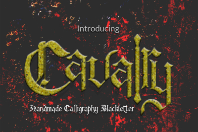 Cavalry Blackletter