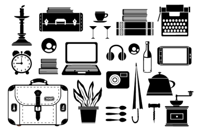 Household  journey elements JPG, PNG