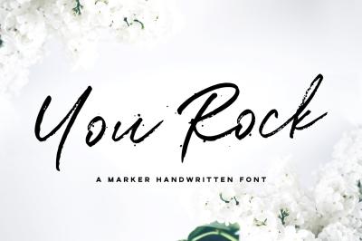 You Rock Handwritten Font