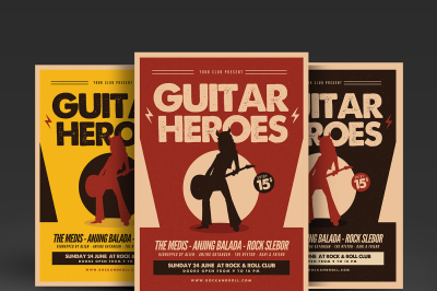 Guitar Heroes Flyer
