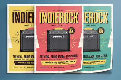 Indie Rock Flyer Vol 02