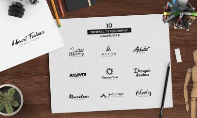 10 Minimal Logo Pack