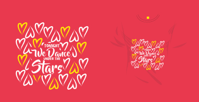 Vector and love slogan for T-shirt printing