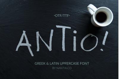 ANTIO! Prokopis   Font Duo