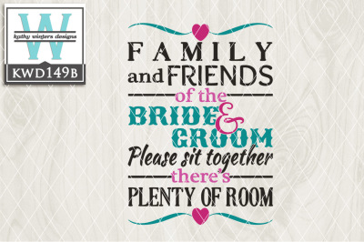 Wedding Cutting File KWD149B