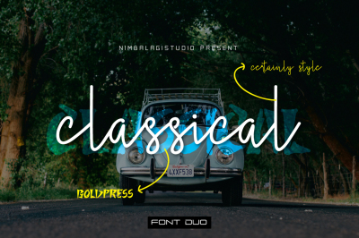 Classical - Font duo