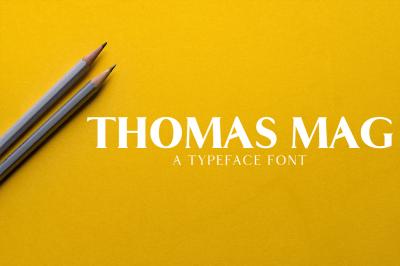 Thomas Mag Serif 9 Fonts Family Pack