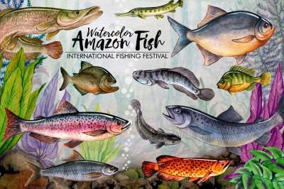Amazon Fishing