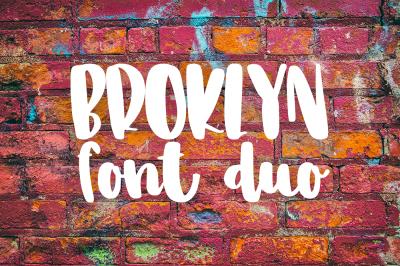 Broklyn Font Duo