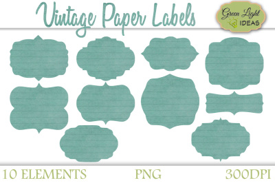 Vintage Paper Labels