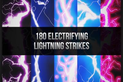 180 Electrifying Lightning Strikes