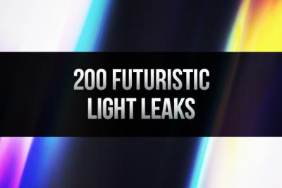 200 Futuristic Light Leaks