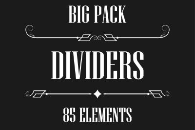 Dividers collection - big pack