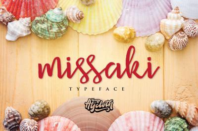 Missaki Typeface