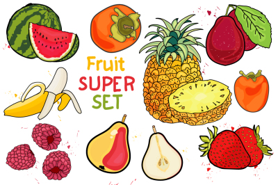 juicy fruit- BIG set