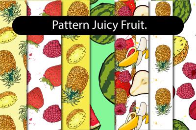 Juicy Fruit - Pattern set