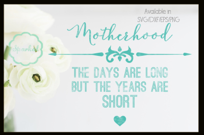 Mother's Day Cutting File - Quote cutting file
