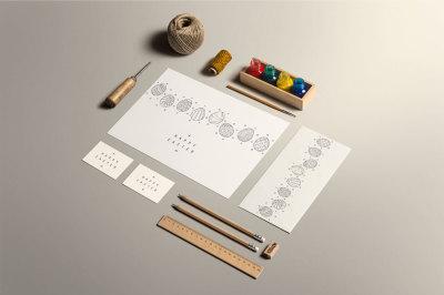 EASTER MEGA SET. Cards/patterns/etc.