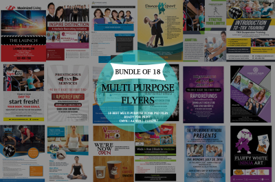 Multi Purpose Flyer Bundle