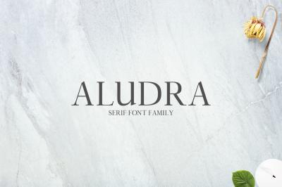 Aludra Serif 12 Font Family Pack