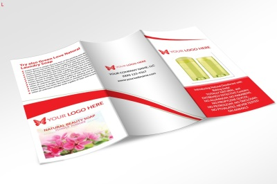 Deodorant Trifold Brochure
